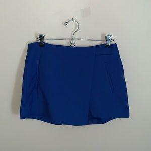 Zara Royal Blue Skort